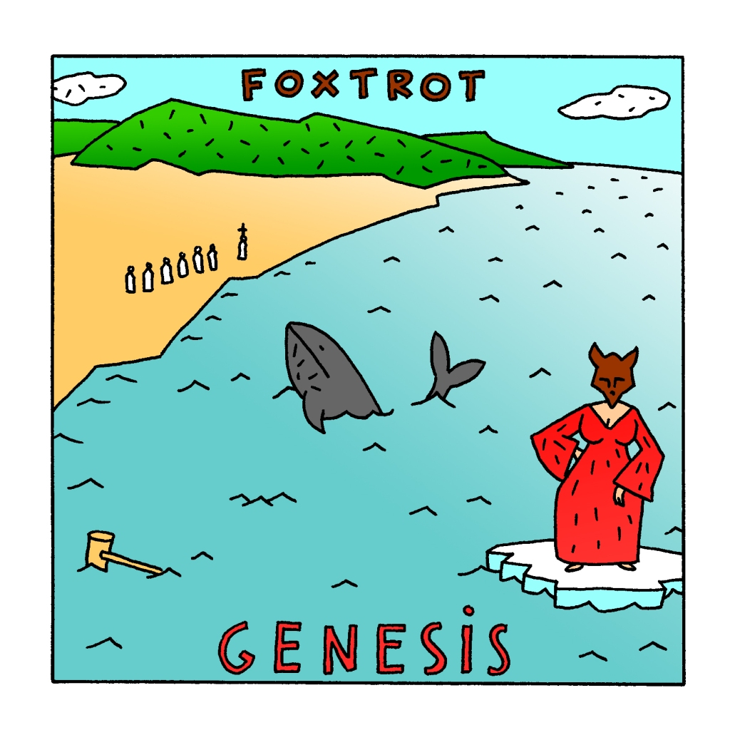 foxtrot with border